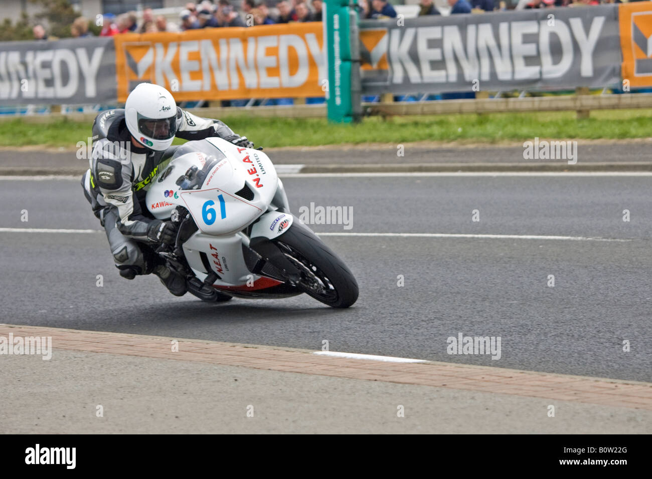 Damian Gledhill North Wesy 200 Northern Ireland - Stock Image