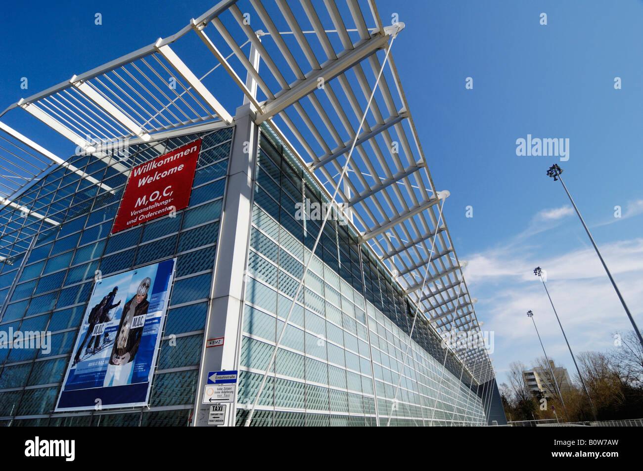 Munich Order Centre, M, O, C, Munich, Bavaria, Germany Stock Photo