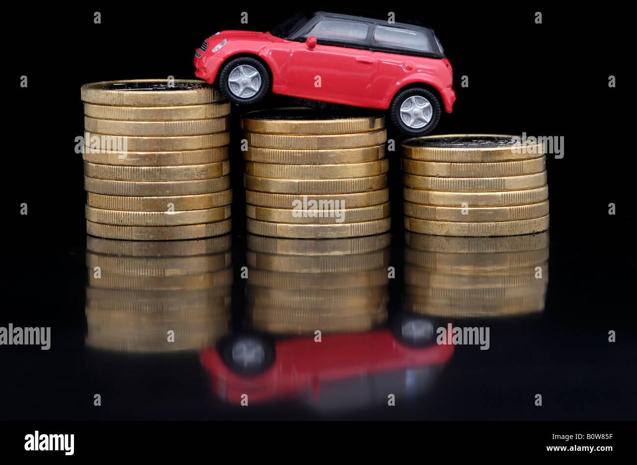 Car taxes Stock Photo