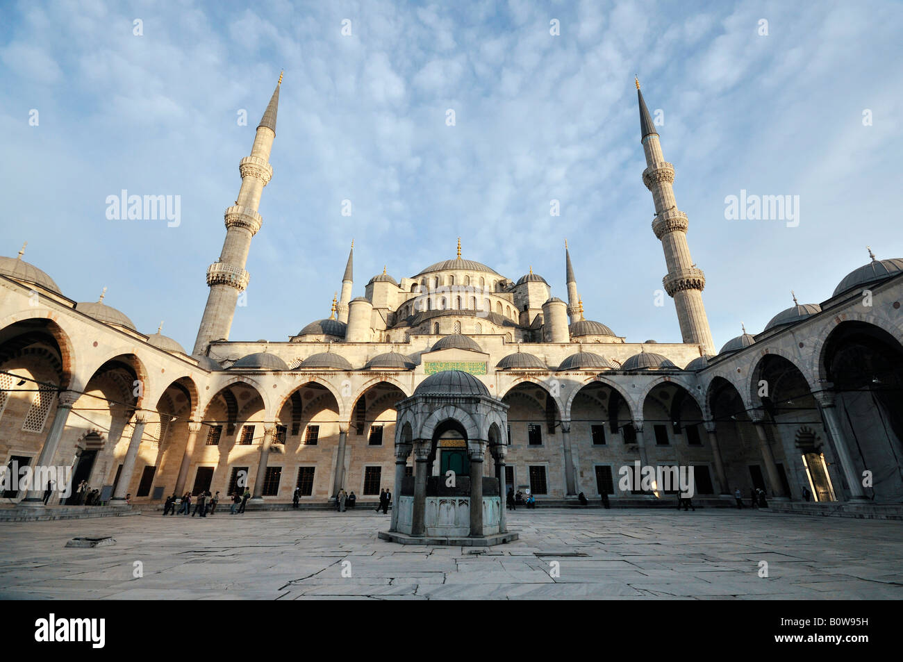 Sultan Ahmed Mosque aka Blue Mosque, Istanbul, Turkey Stock Photo