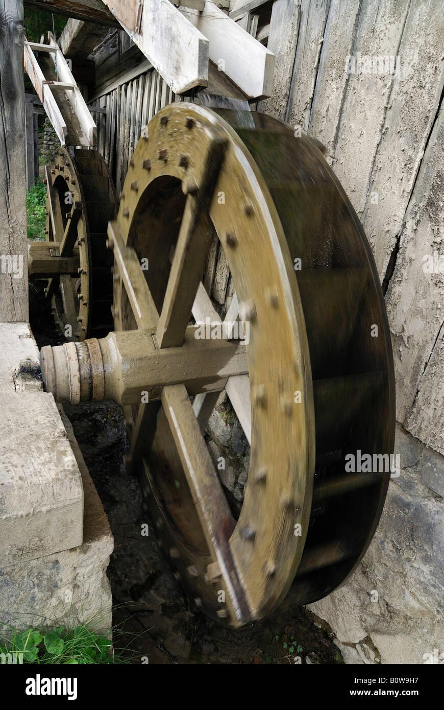 Mill wheel - Stock Image