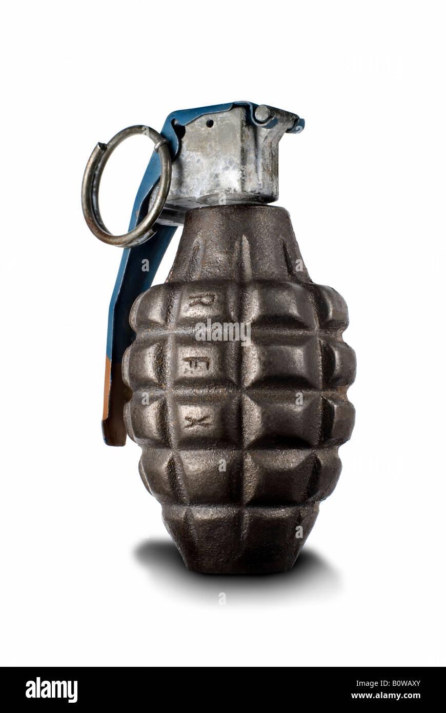 Hand grenade - Stock Image