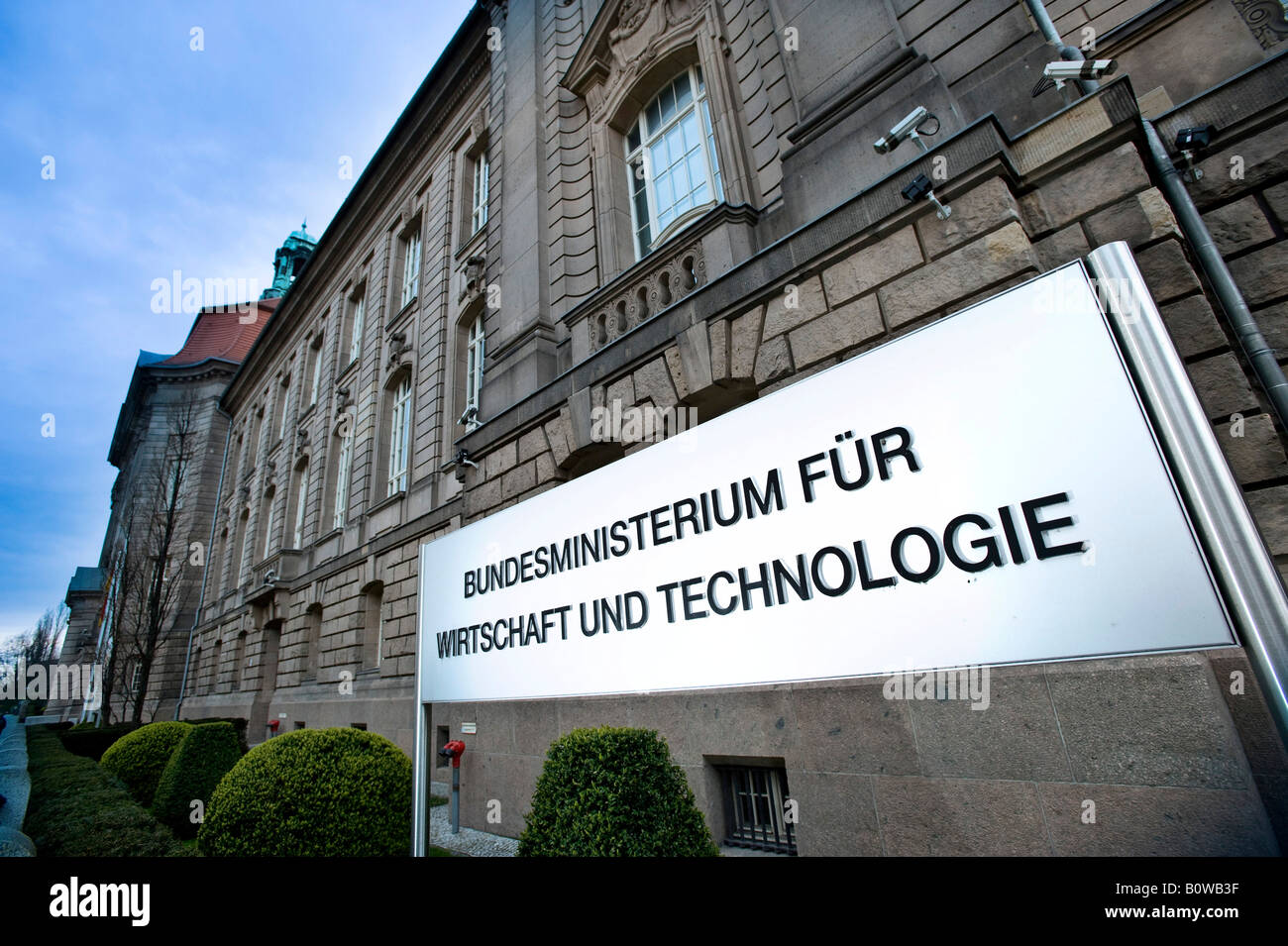 Federal Ministry of Economics and Technology, Berlin, Germany - Stock Image
