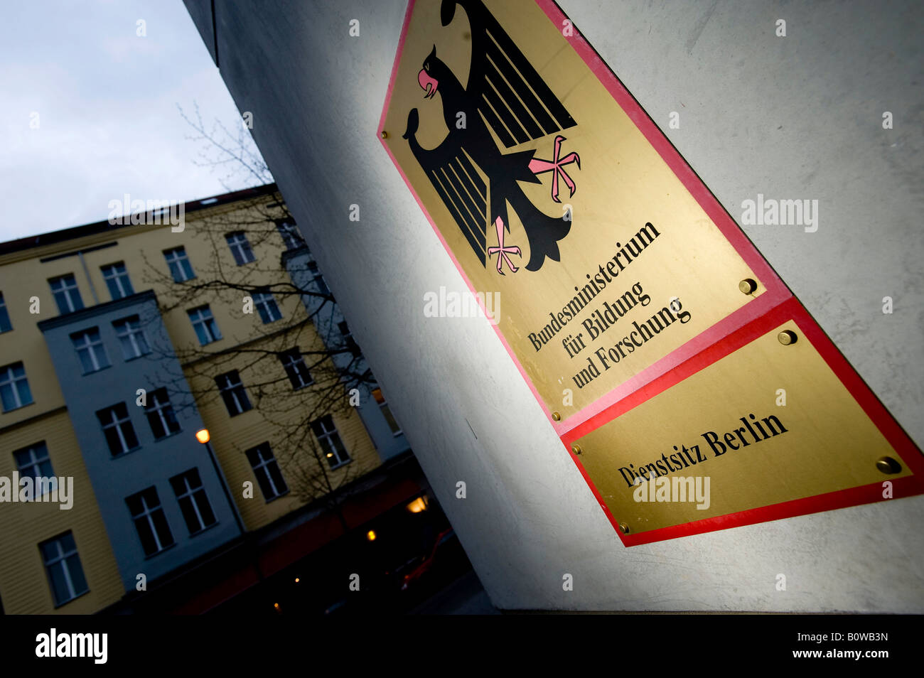 Federal Ministry of Education and Research, Berlin, Germany - Stock Image
