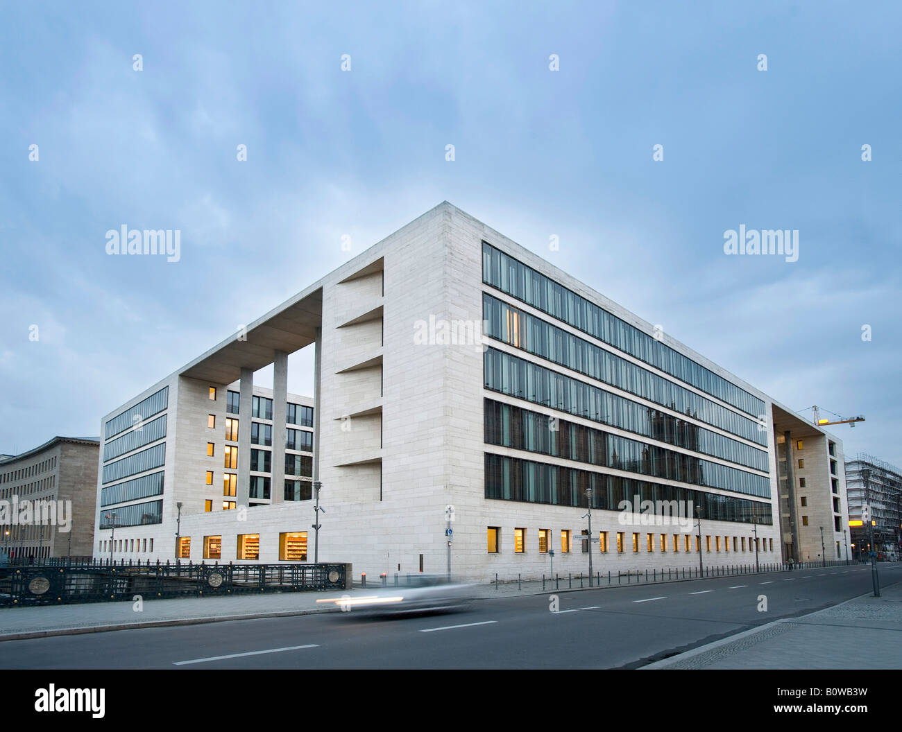 Auswaertiges Amt, German Foreign Office, Ministry of Foreign Affairs, Berlin, Germany - Stock Image