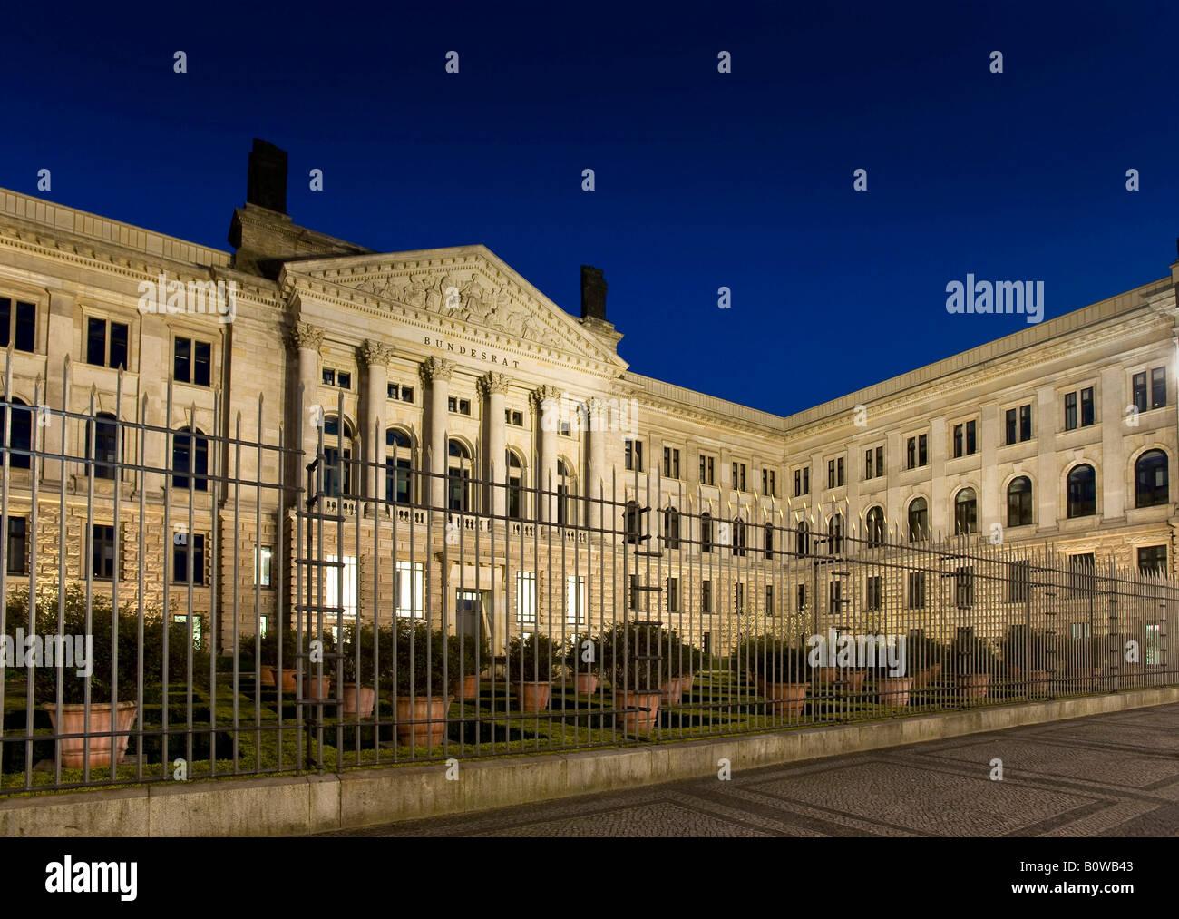 Bundesrat, Federal Council, Berlin, Germany - Stock Image