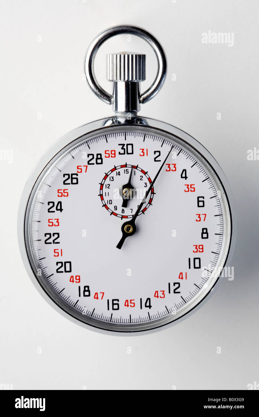 A Stopwatch - Stock Image