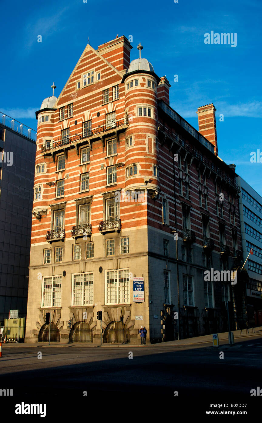 Albion House former White Star Line headquarters Liverpool England - Stock Image