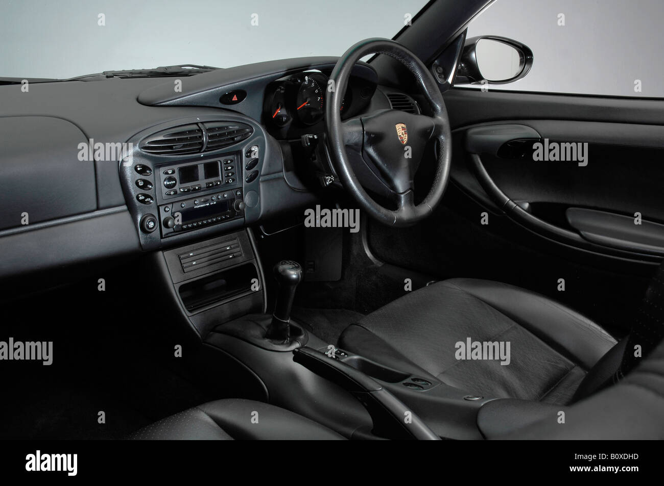Interior Of 1999 Porsche Boxster Stock Photo Alamy