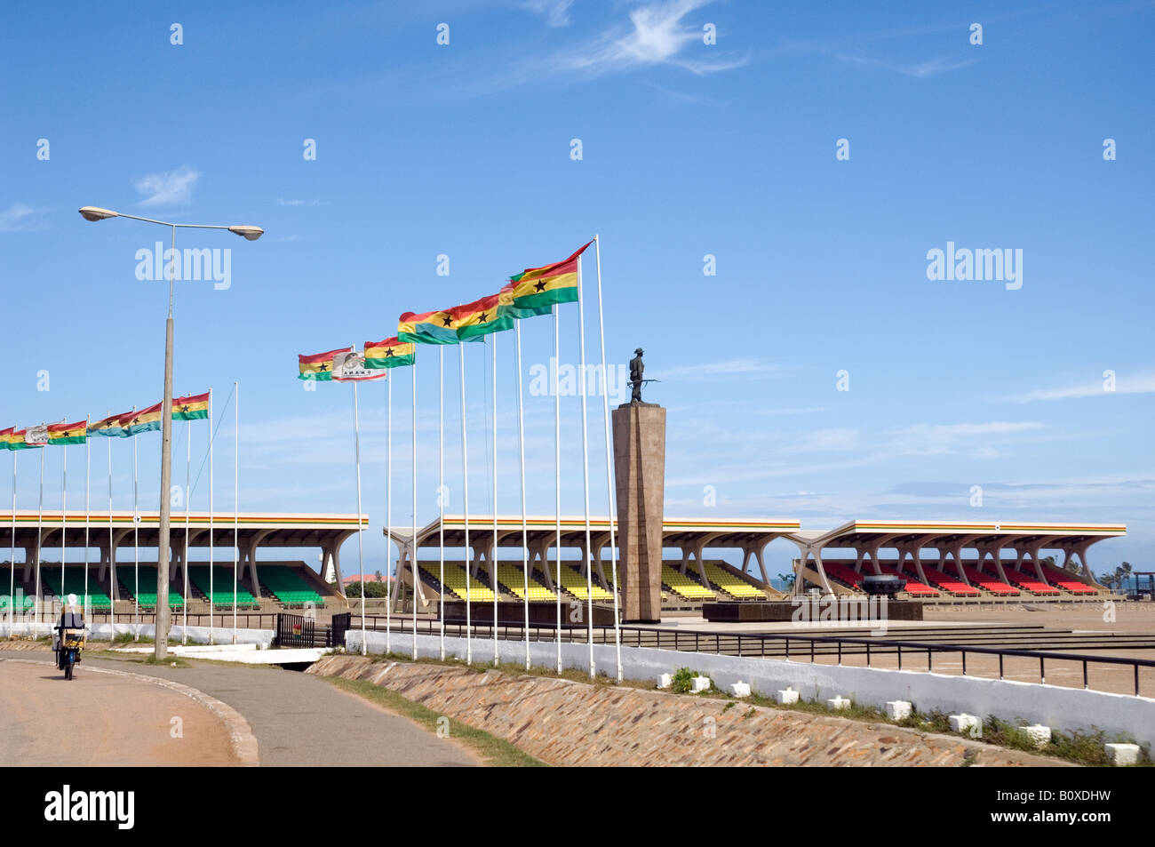 Statue of the unknown soldier Independence Square, Accra, Ghana - Stock Image