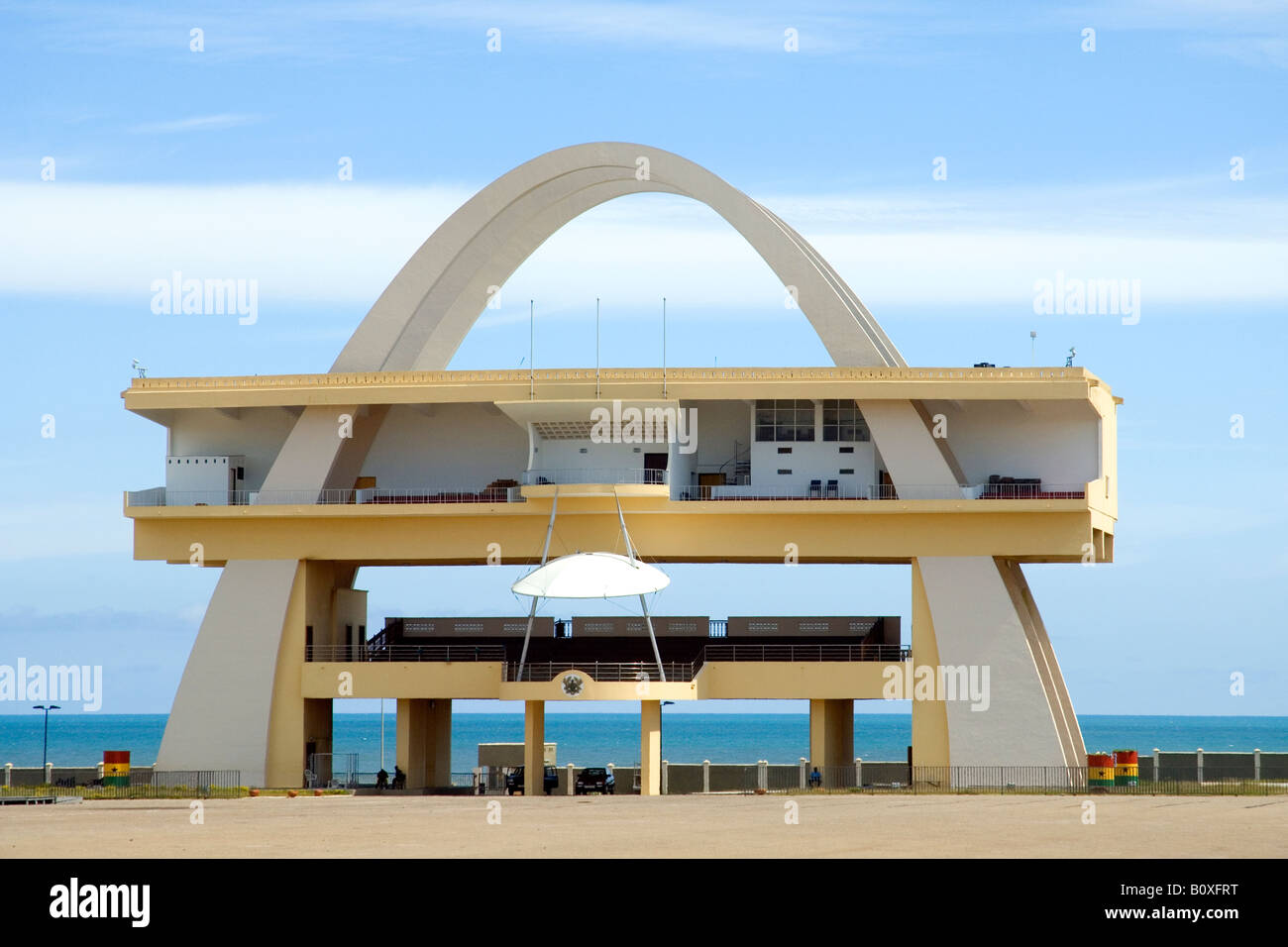 Independence Arch, Accra, Ghana - Stock Image