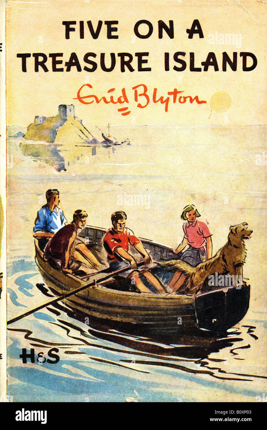 five on a treasure island book report The famous five are among enid blyton's best-loved creations and countless children have gone adventuring with them since the publication of five on a treasure island in 1942, the first of twenty-one full-length adventures and numerous short stories.