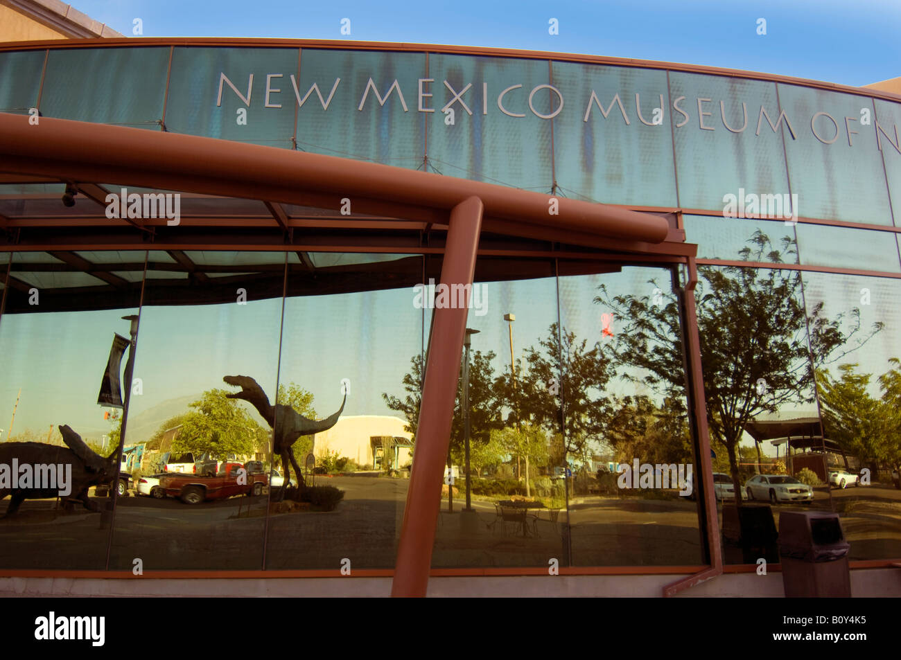 New Mexico Museum of Natural History and Science Albuquerque New Mexico - Stock Image