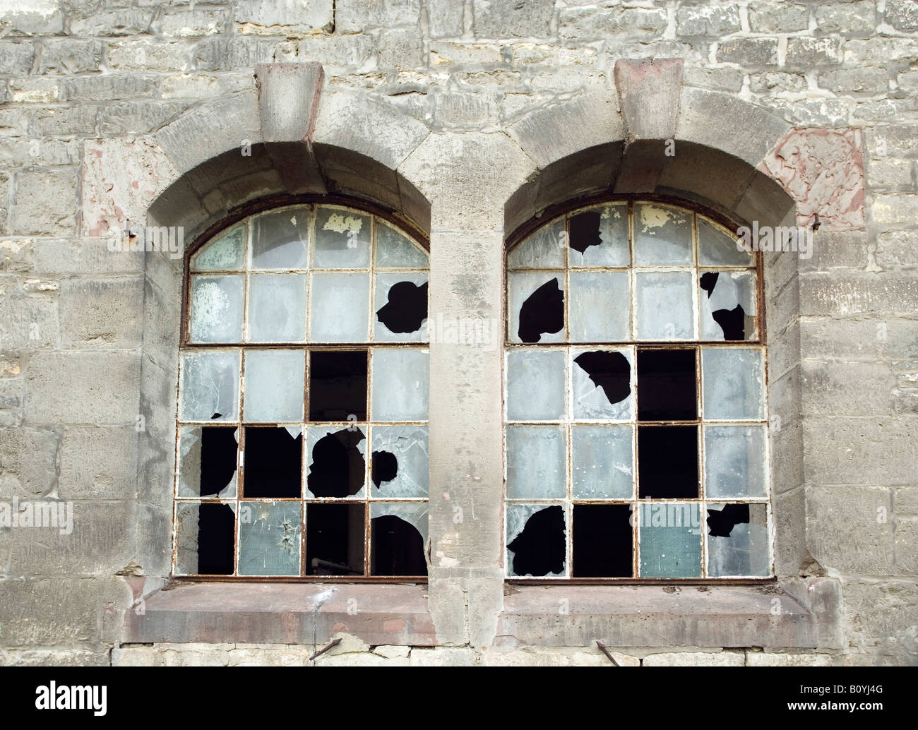 Abandoned Building - Stock Image