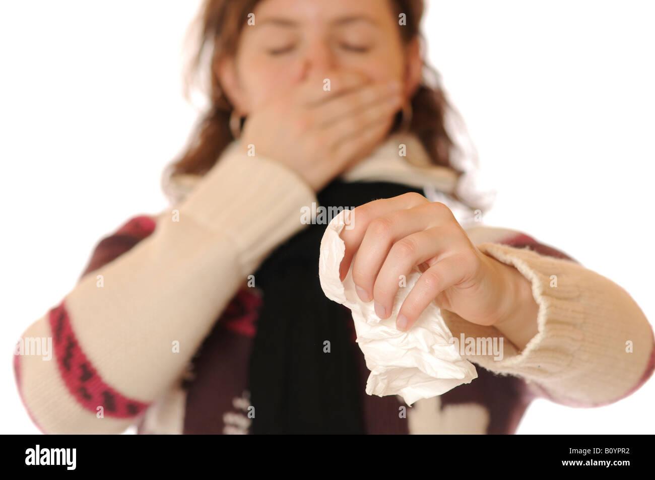 Flu Stock Photo