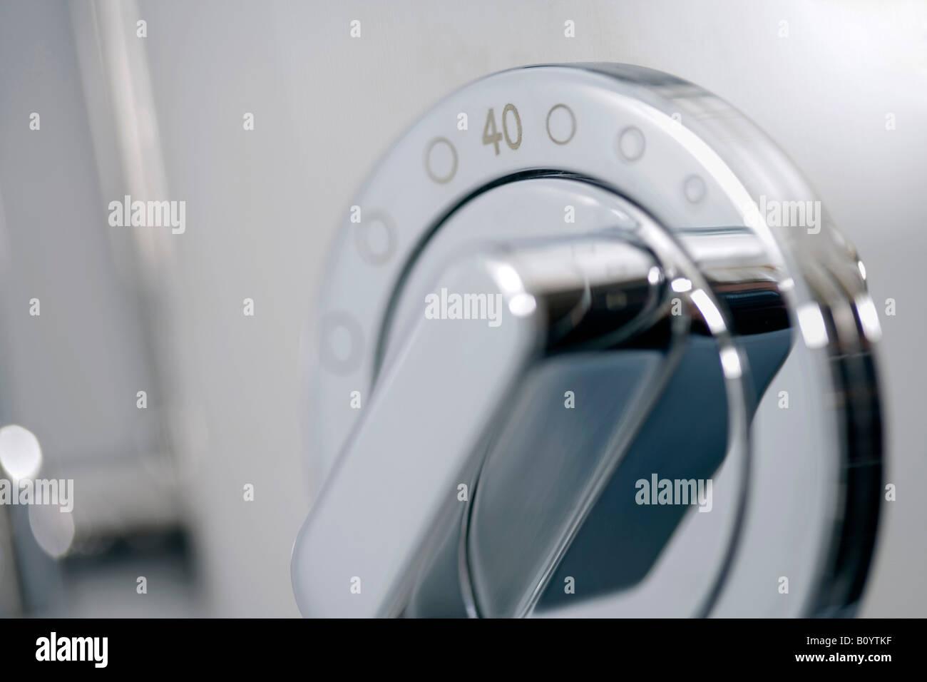 Dial, close-up - Stock Image