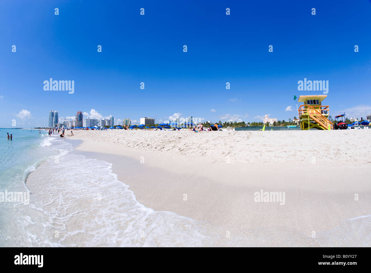 South Beach, Miami Beach, Florida, USA - Stock Image