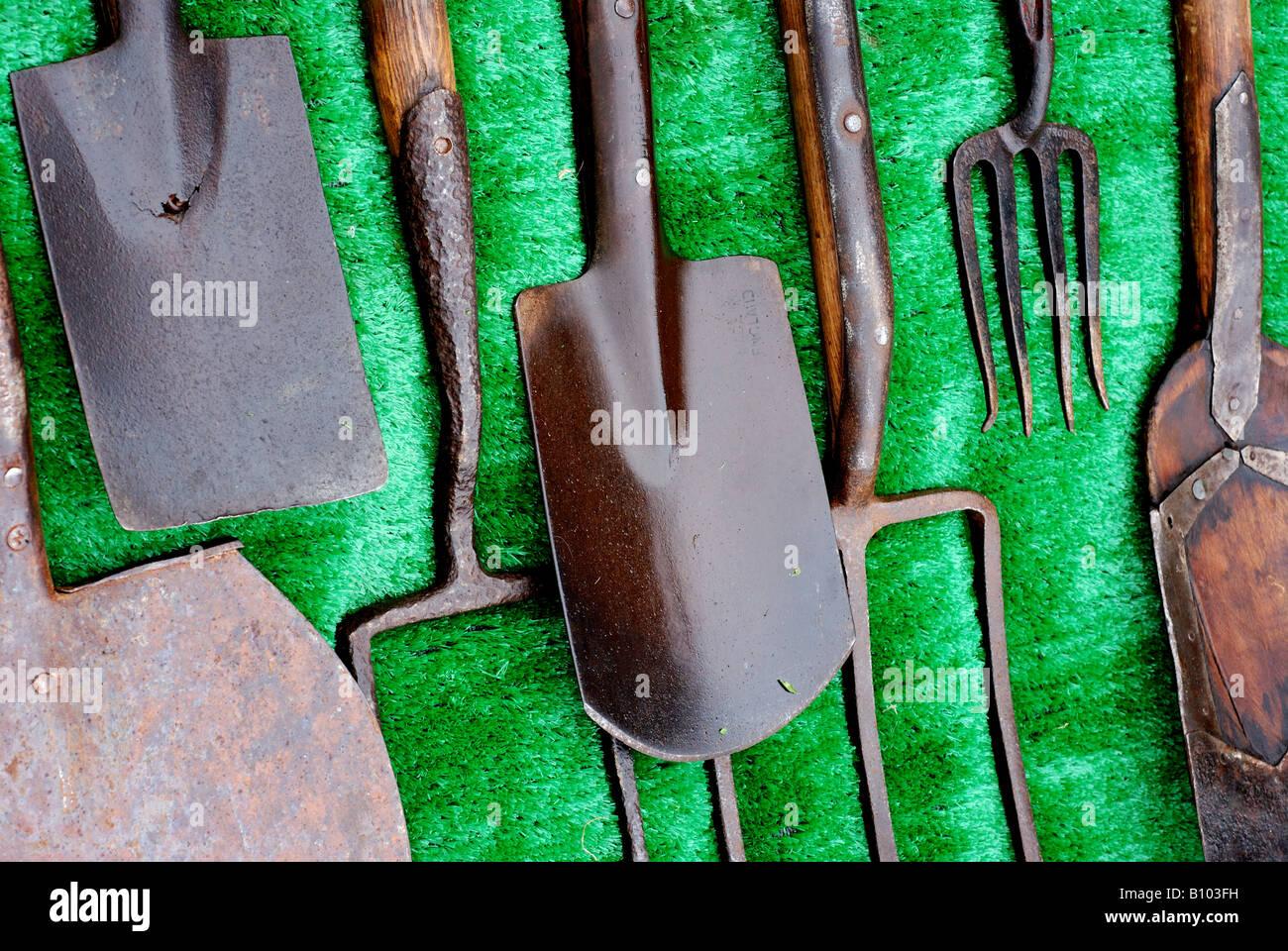 Antique Garden Tools, UK