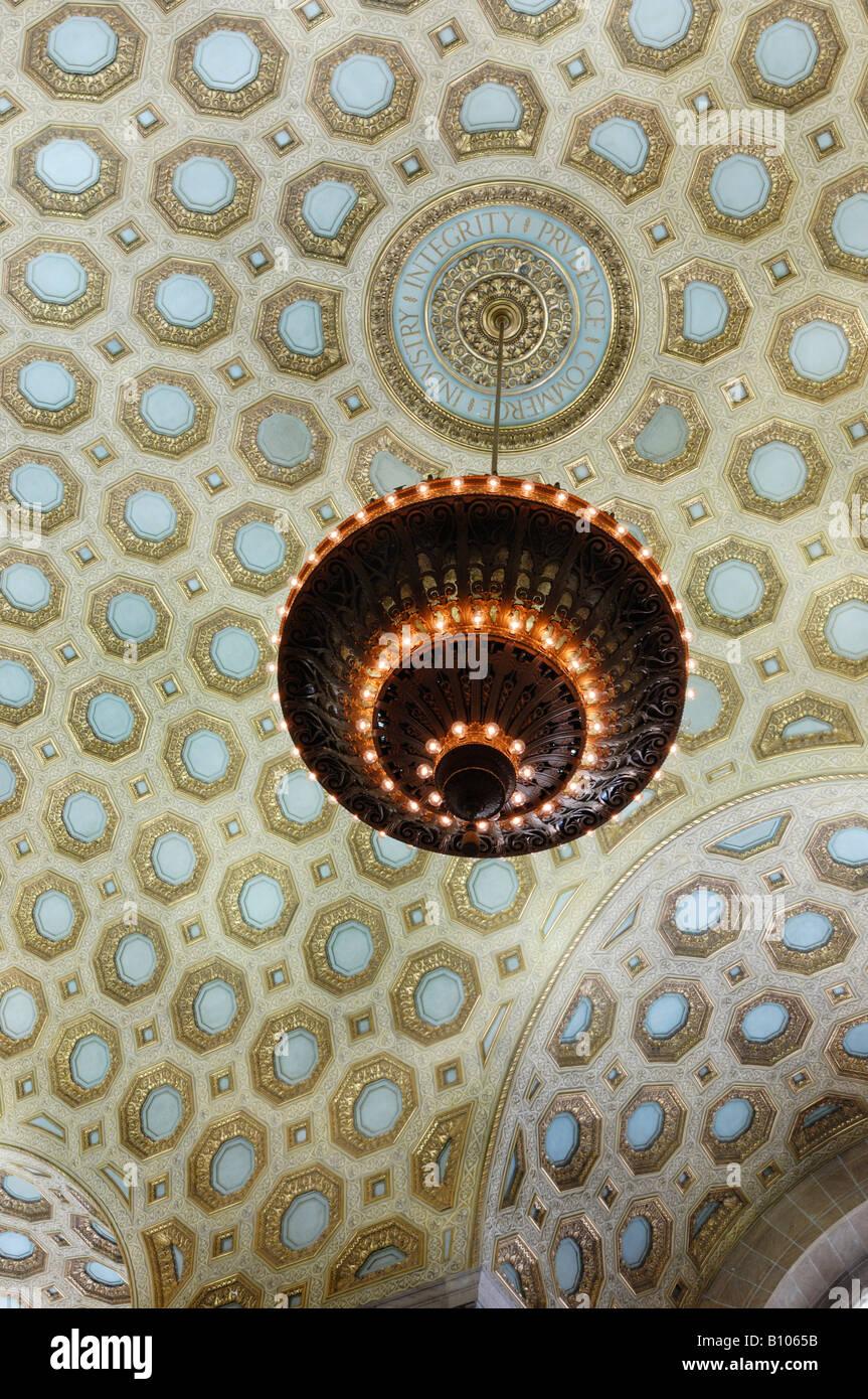 Decorative Ceiling - Stock Image