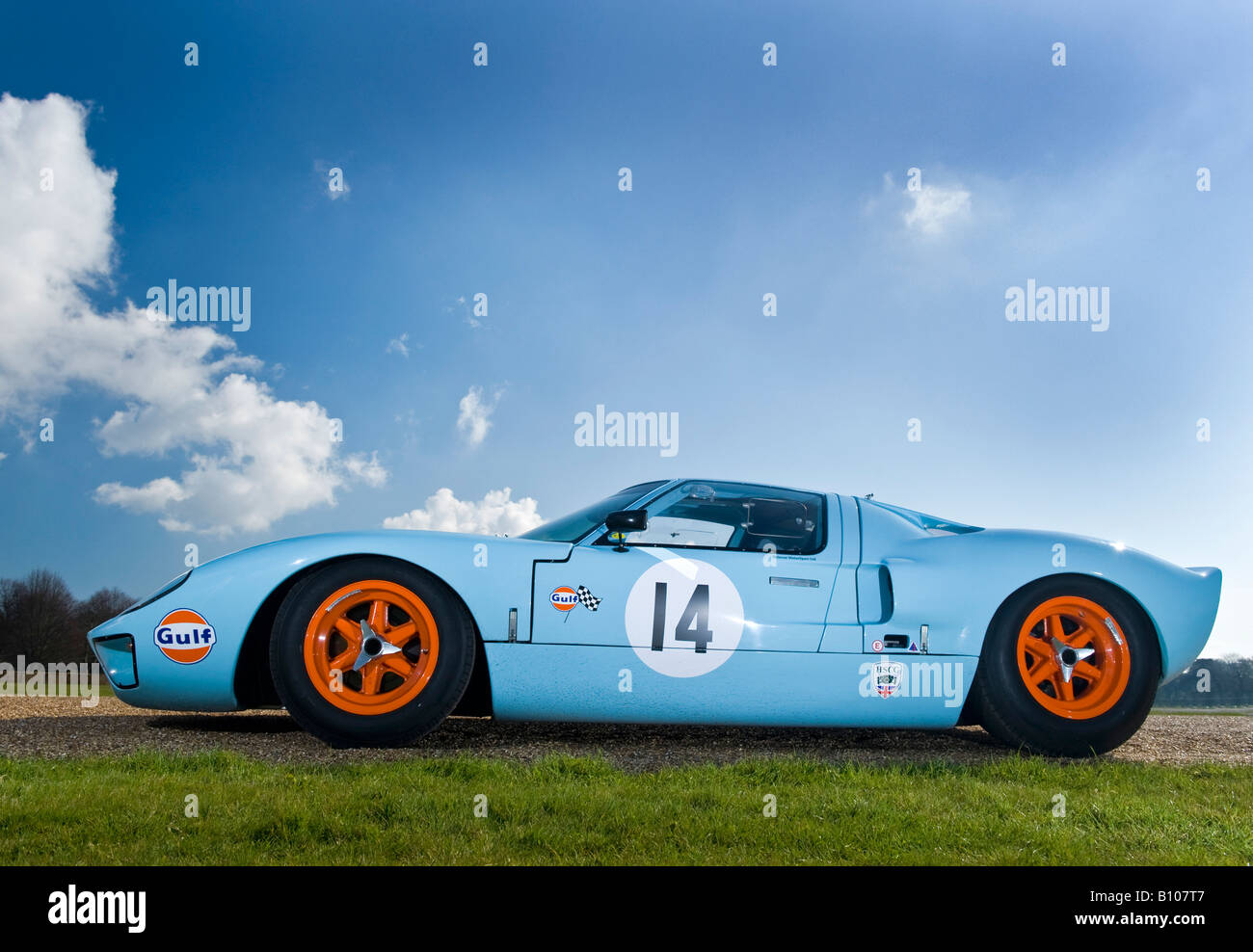 Ford Gt Gt Le Mans Racing Car Auto Gulf Engine
