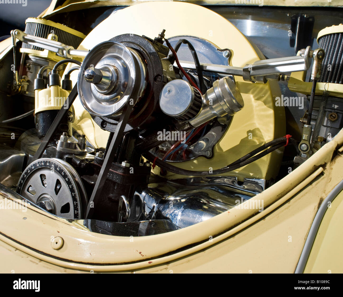Vw Beetle Wankel Engine: Camping 1950s Stock Photos & Camping 1950s Stock Images