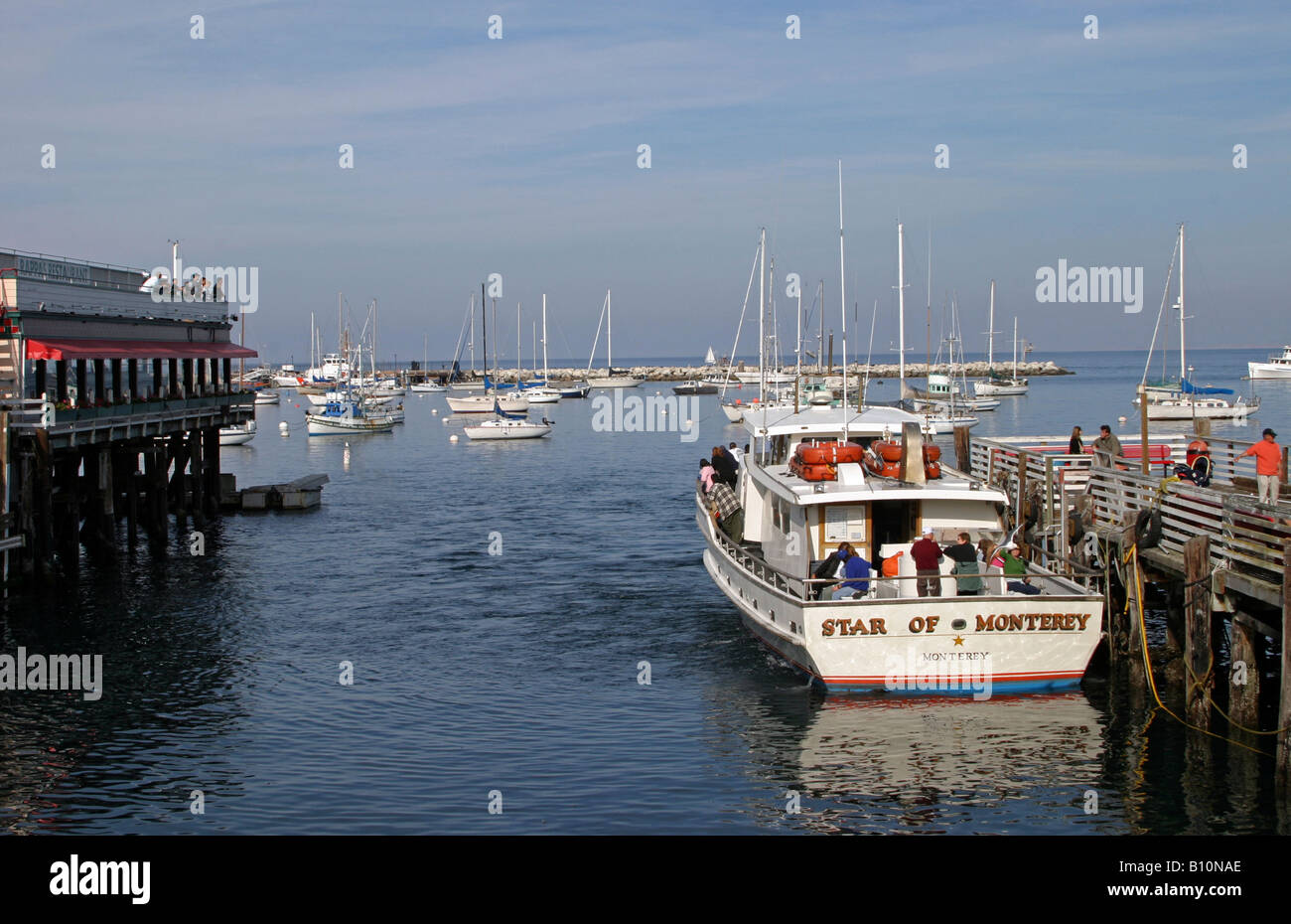Star of Monterey Whale Watching Boat - Stock Image
