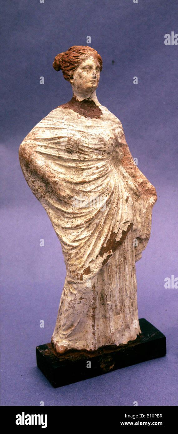 Hypatia Female philosopher head of Neo platonists at Alexandria 370 415 AD Egypt - Stock Image