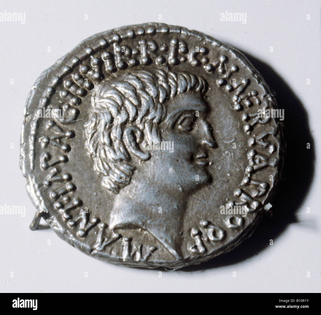 Roman coin of Mark Antony Copyright  Copyright AAA Collection - Stock Image