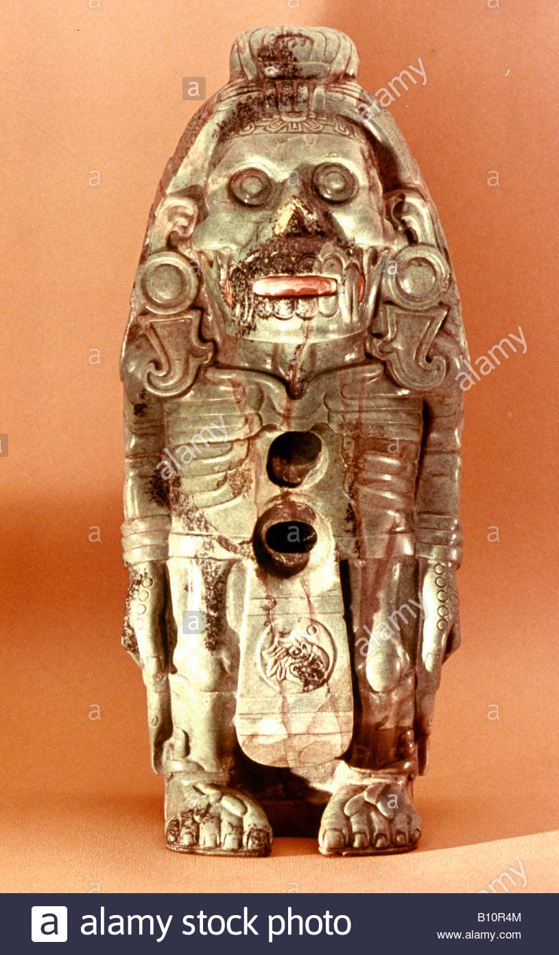 Aztec god Xolotl Mexico AAAC Ltd - Stock Image