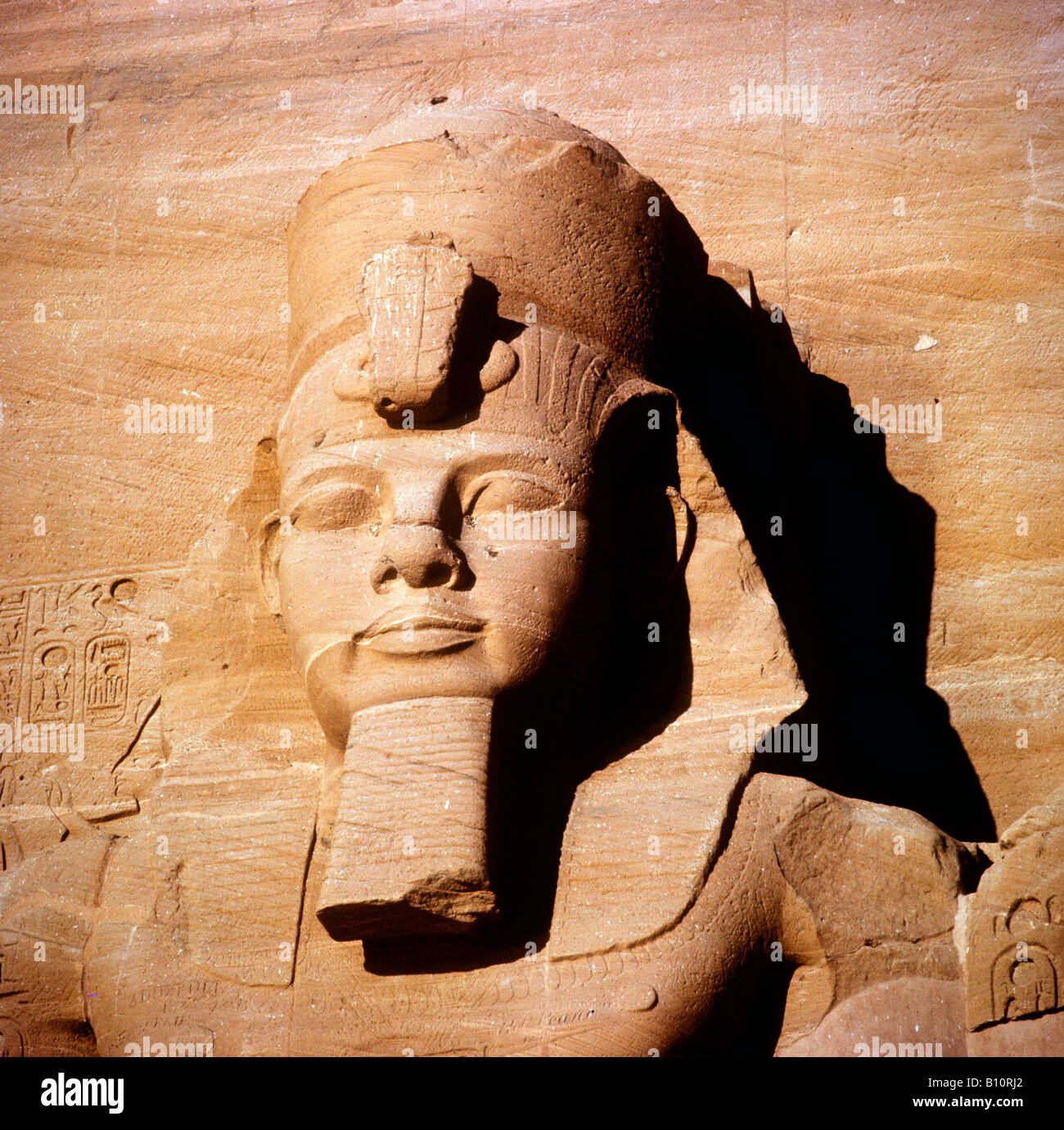 Rameses II from Abu Simbel Egypt  ©The Ancient Art & Architecture Collection Ltd. - Stock Image