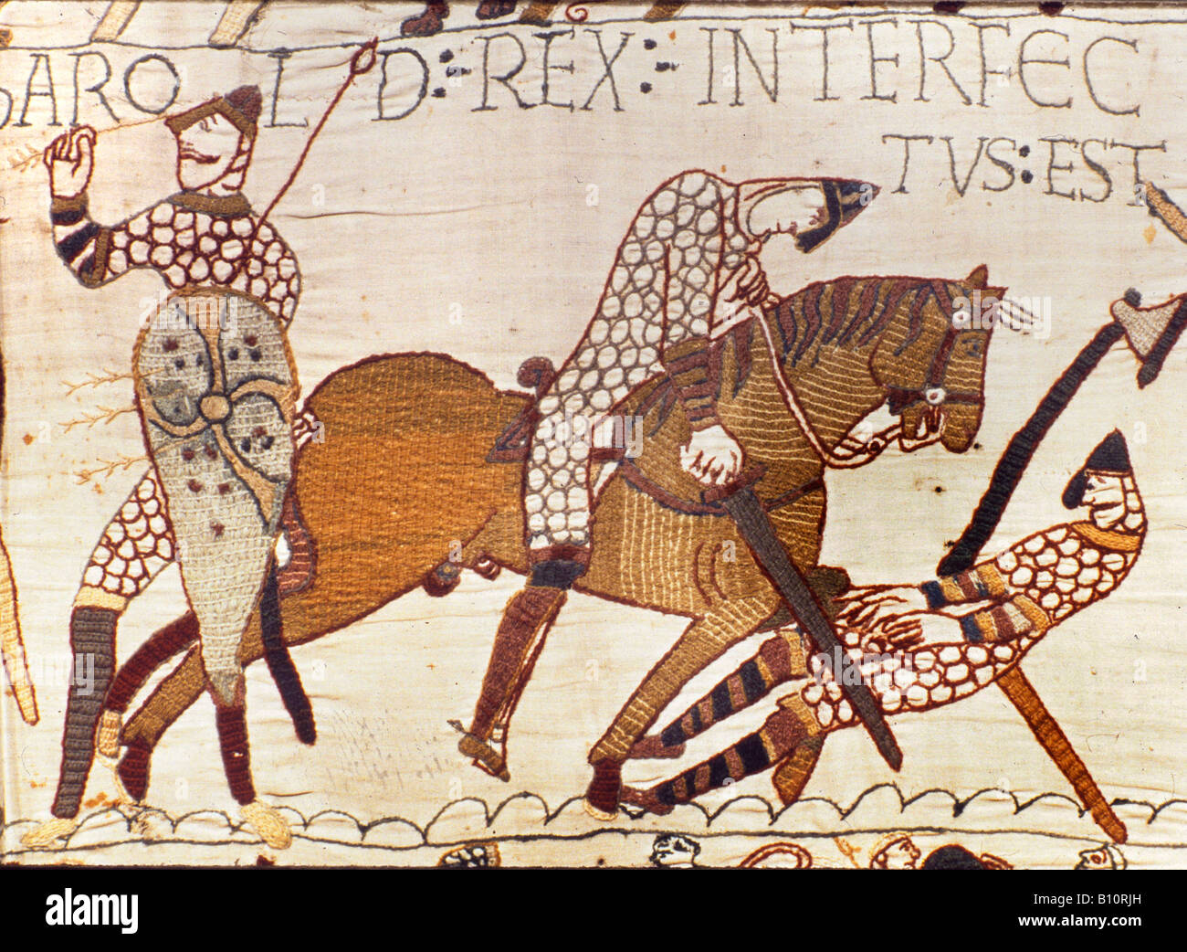 Bayeux Tapestry Stock Photos Bayeux Tapestry Stock Images Alamy
