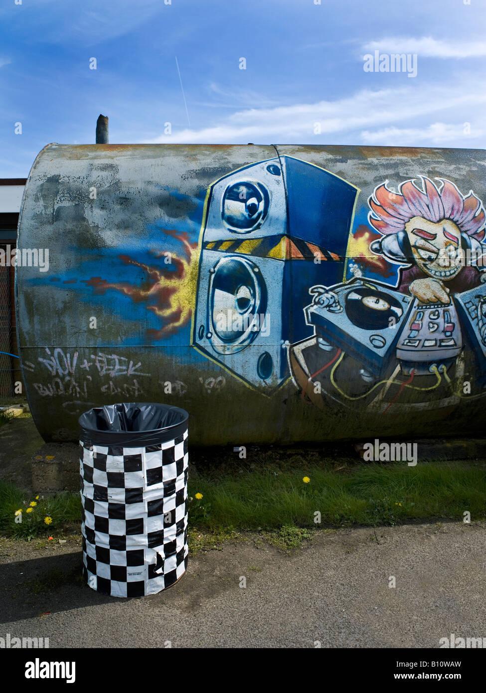 Graffiti DJ Decks Art Urban Street Hip Hop Paint Grime Music Vibe