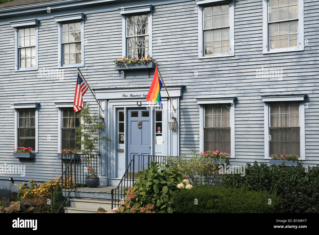 Traditional Colonial House Plymouth Massachusetts New England