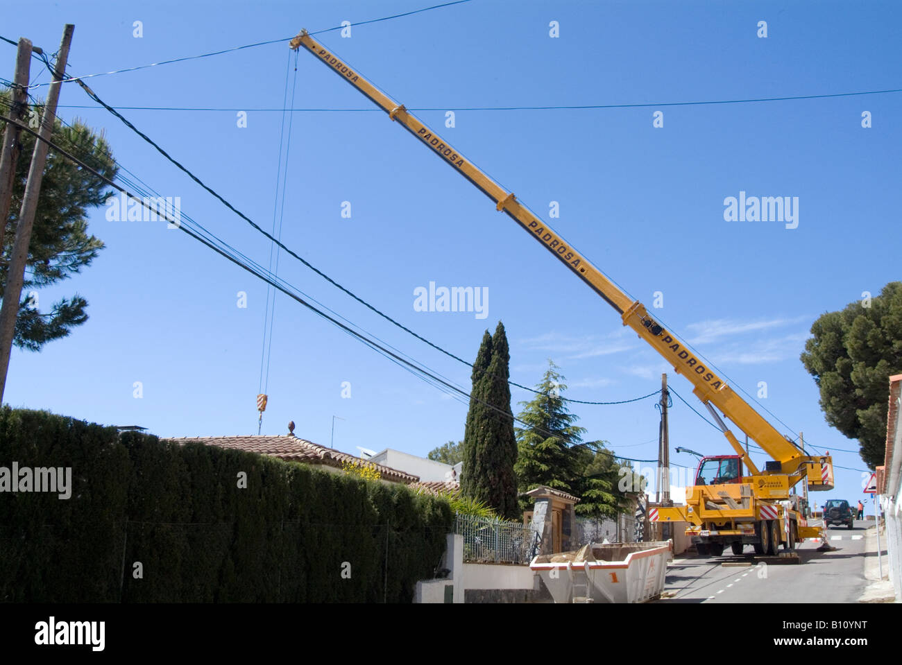 Tractor Lift Arm Extension : Mobile crane tuck lorry lifting equipment heavy lift arm