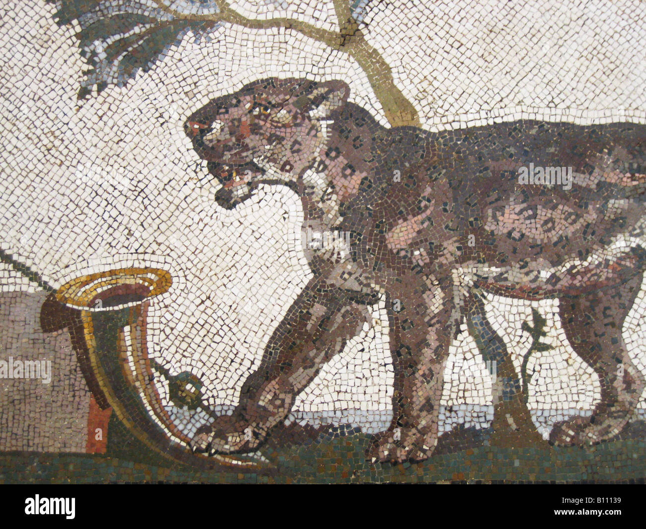 Mosaic, Fine Arts, Ancient world, Roman Empire, 1st century, AD, Naples Archeological Museum Stock Photo