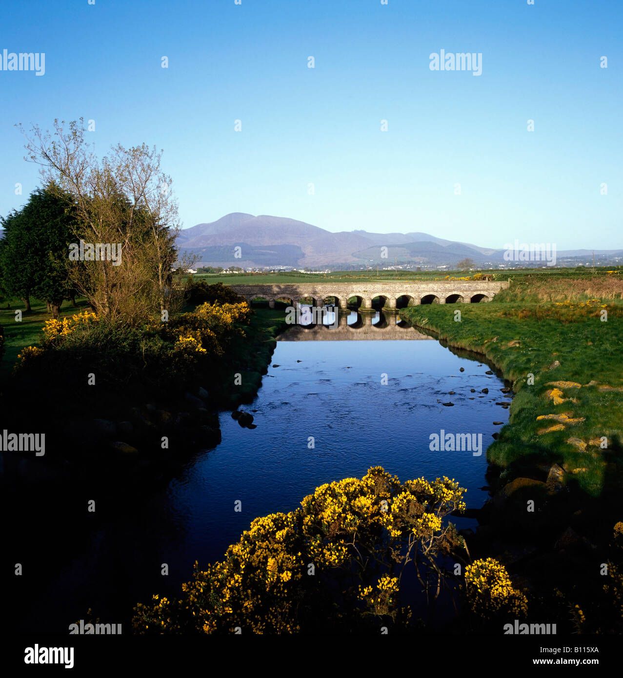 Co Down, Newcastle, 12 Arches, Ireland - Stock Image