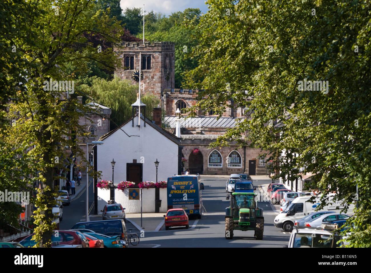 UK England cumbria appleby - Stock Image