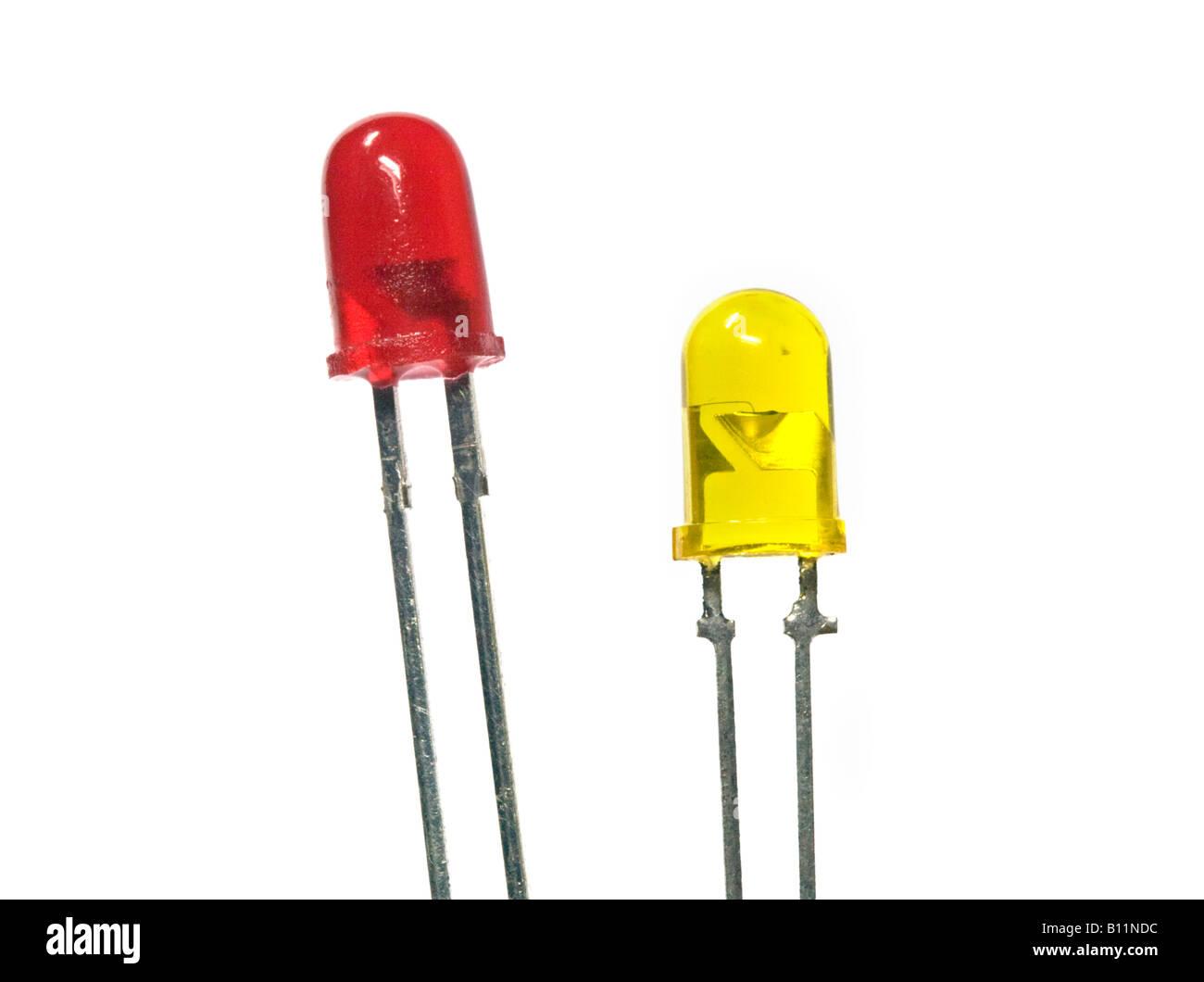 Couple Light Emitting Diode Stock Photos Circuit Leds Image