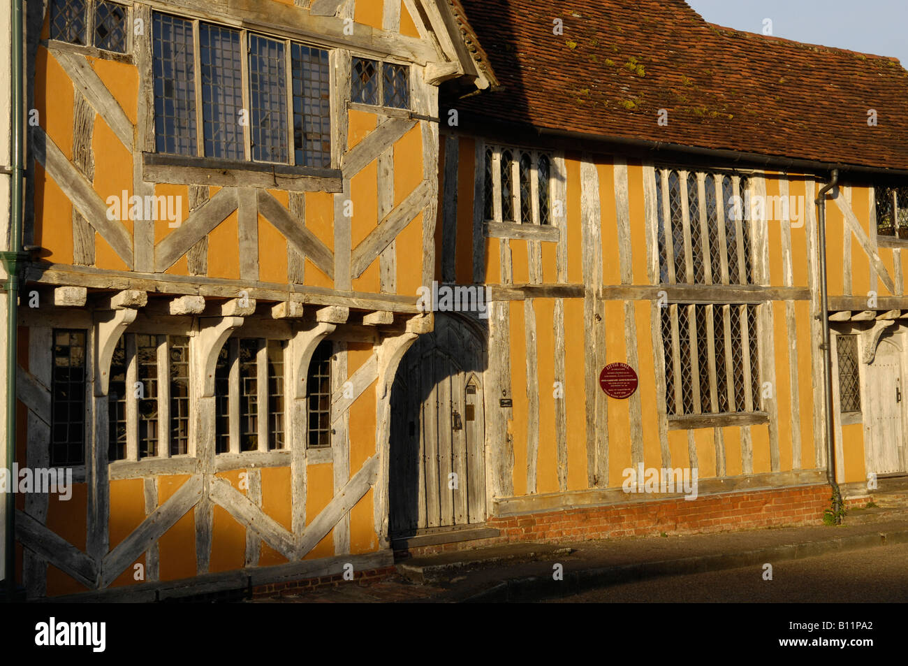 The Little Hall in Lavenham Suffolk England UK - Stock Image