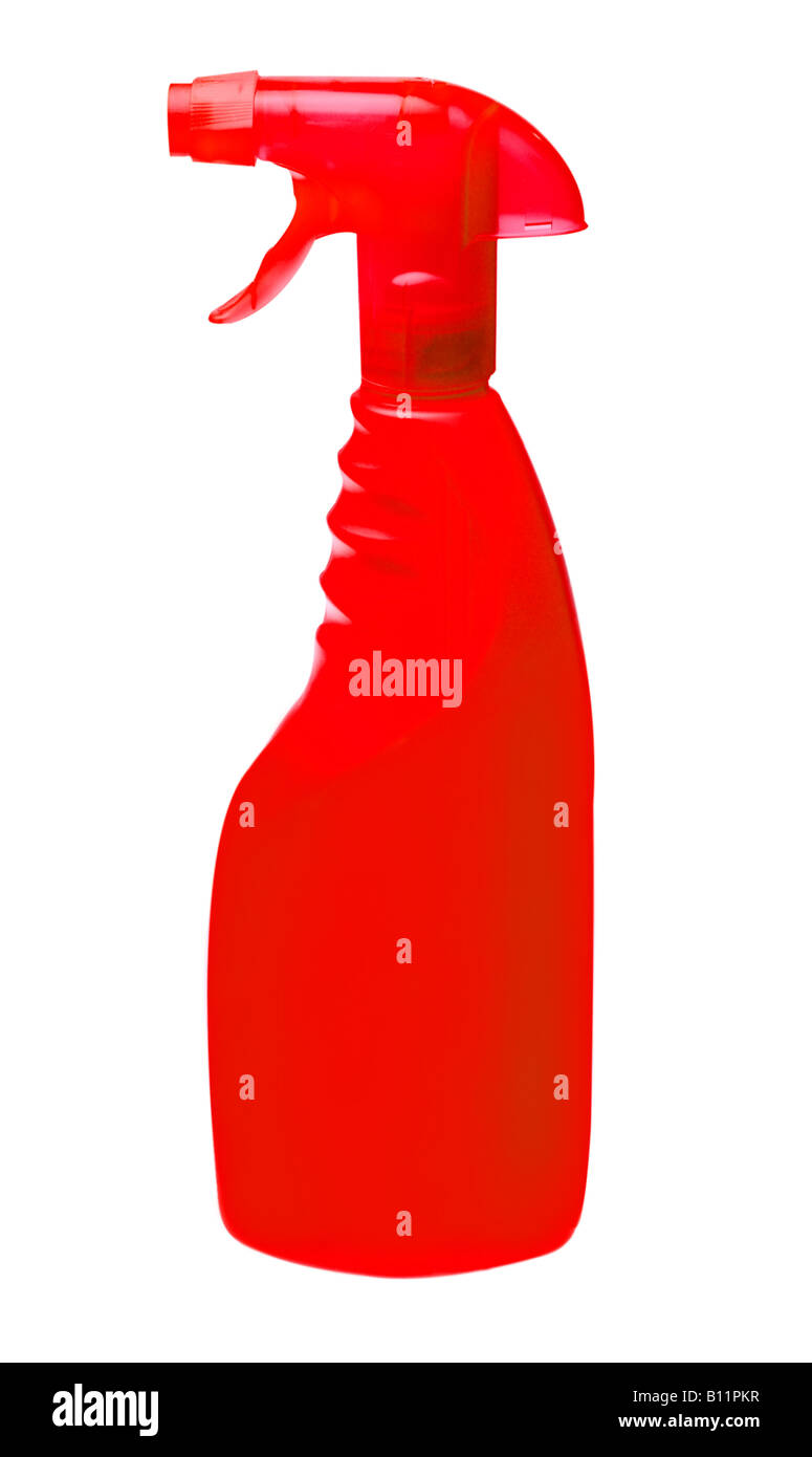 generic spray bottle put on your own label Stock Photo
