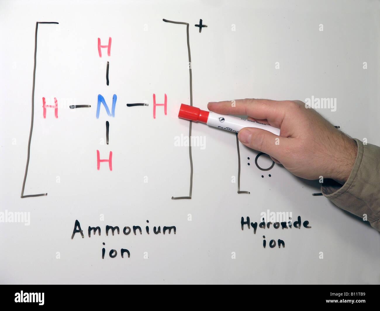 Ammonium Hydroxide Stock Photos Ammonium Hydroxide Stock Images
