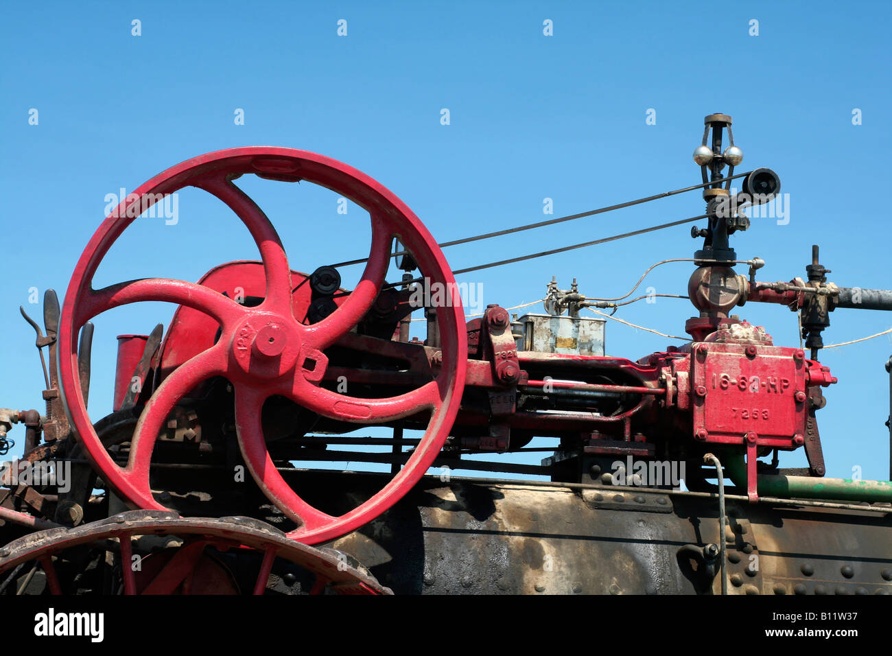 Steam engine - Stock Image