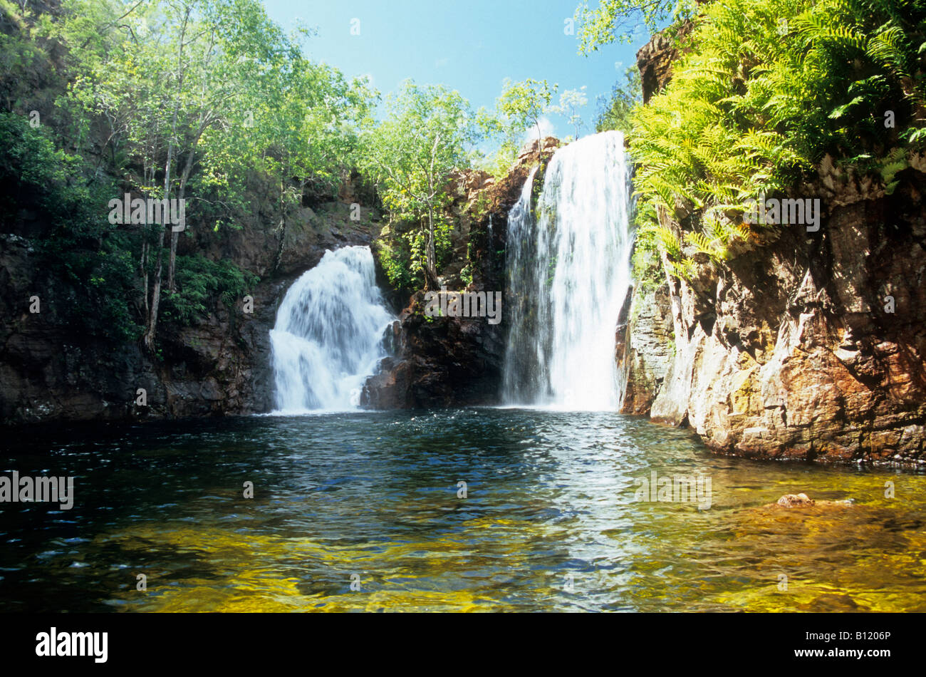 Florence Falls in the Litchfield National Park, Northern Territory, Australia. - Stock Image
