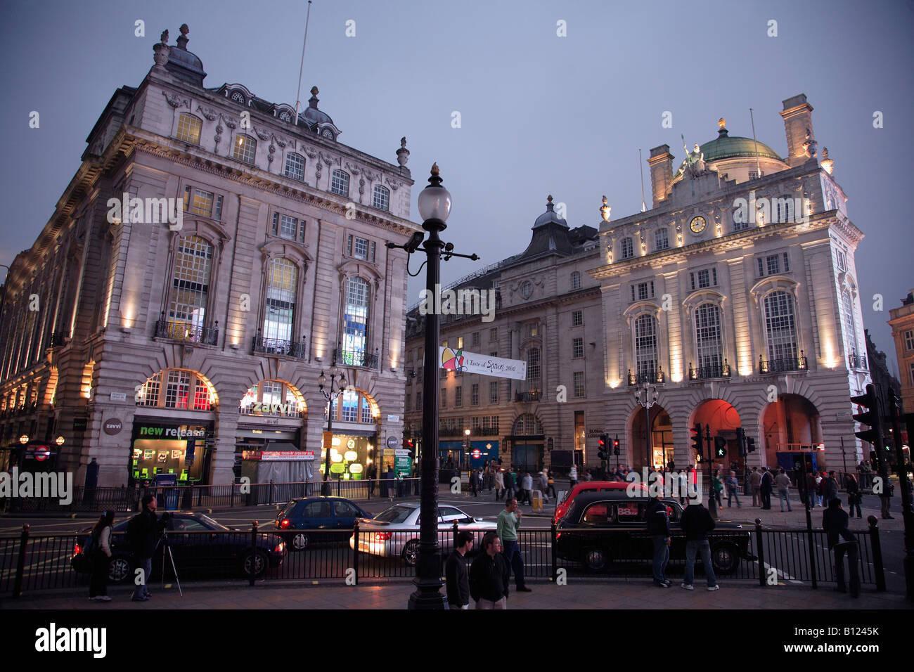 UK Britain England London Picadilly Circus - Stock Image