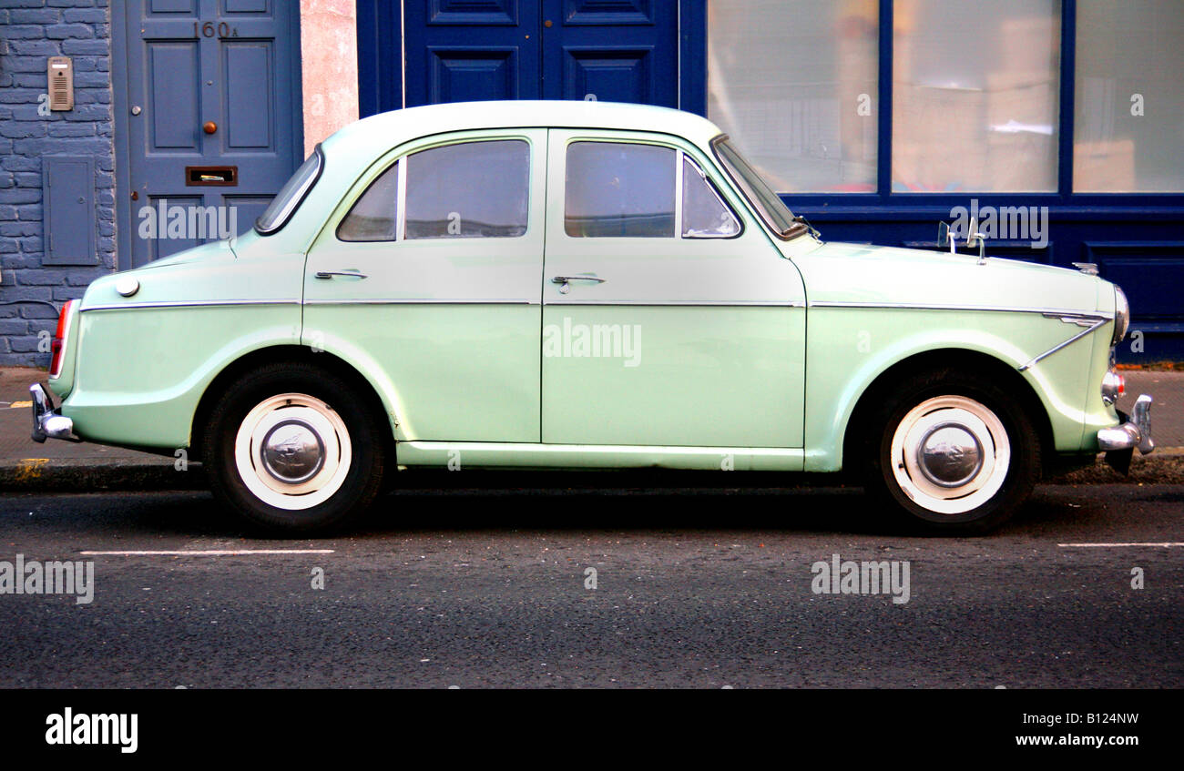 Wolseley 1500 classic 1960s British family car - Stock Image