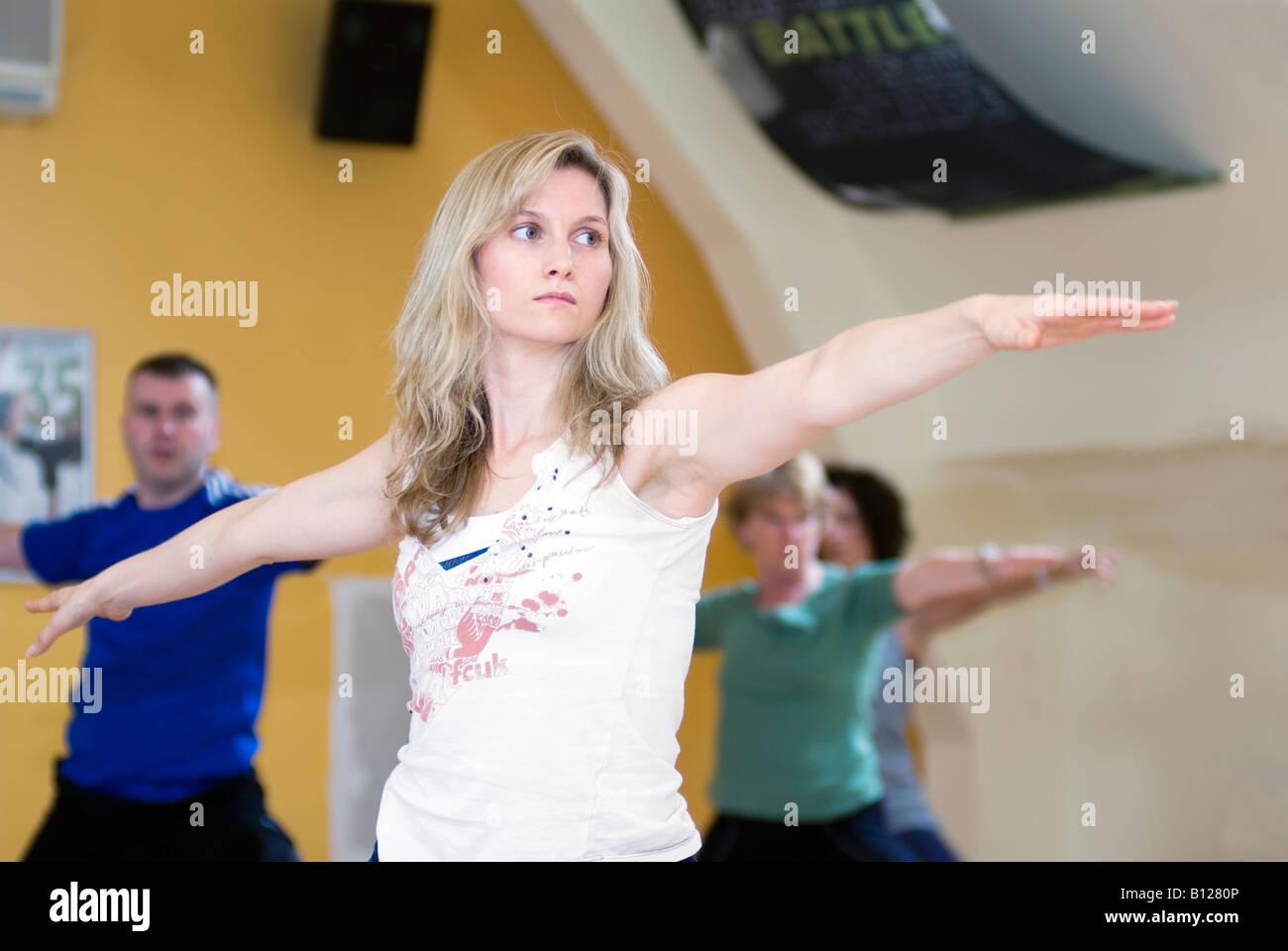 Yoga Class Girl Girls Women Men Man Vinyasa Flow Dynamic Pose