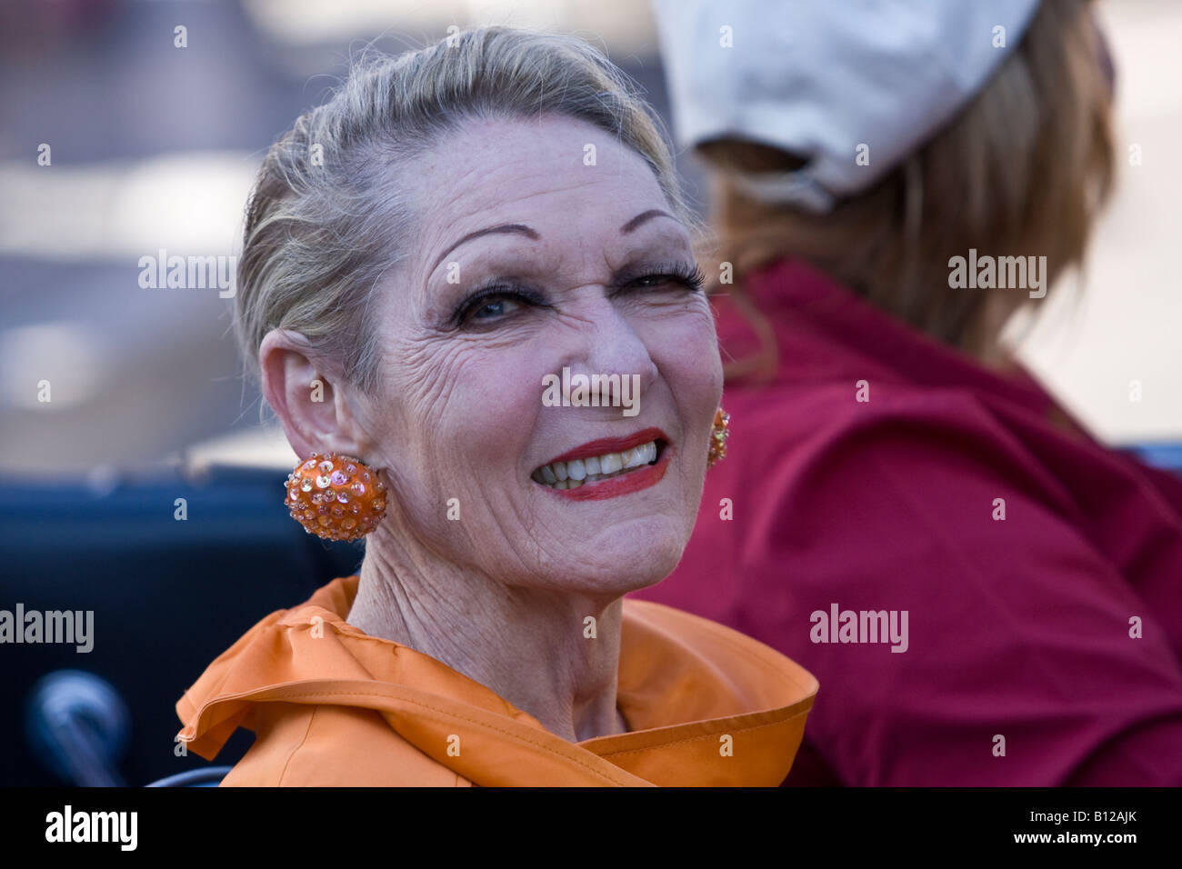 Australian Television personality Jeannie Little - Stock Image