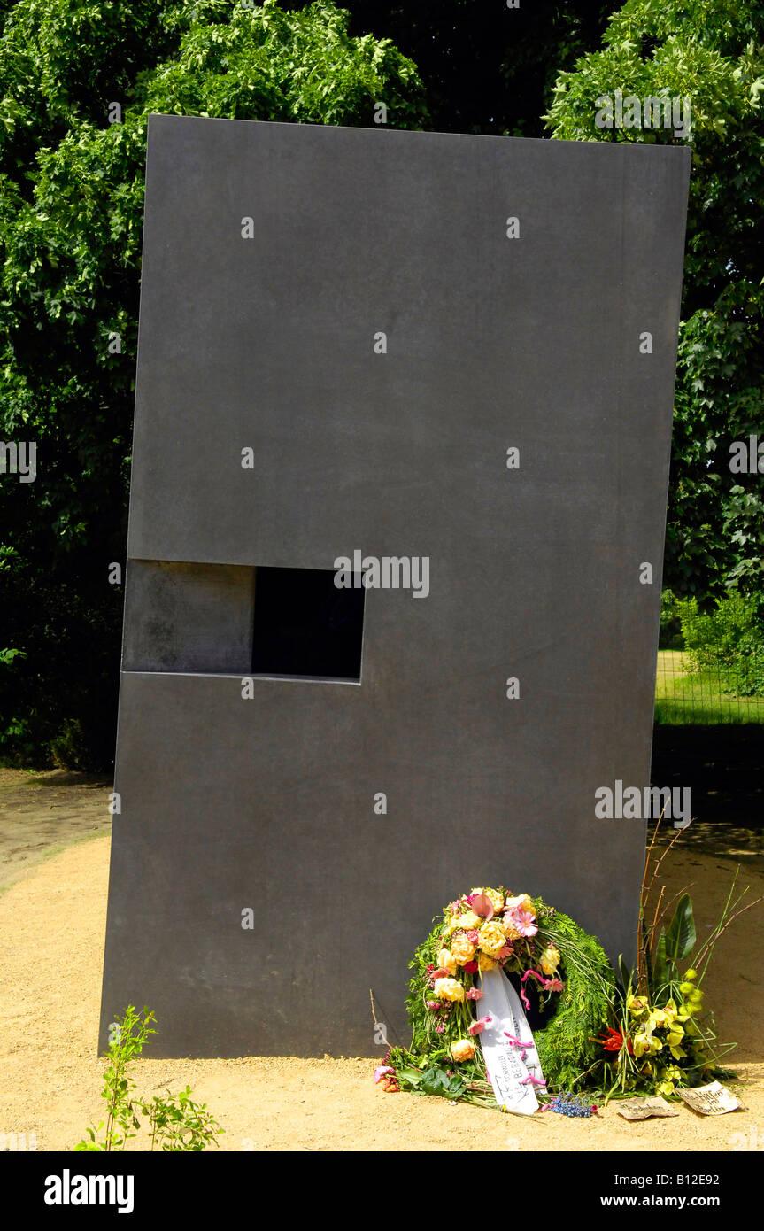 homosexual tribute germany deutschland tiergarten Stock Photo