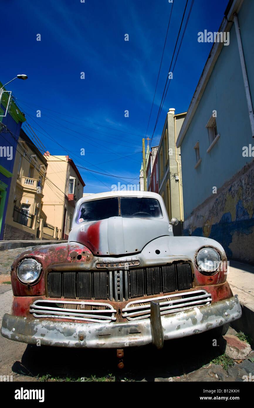 1947 Mercury Stock Photos Images Alamy 1941 Eight Coupe Automobile Ford Motor Company Calle Templeton Cerro Alegre