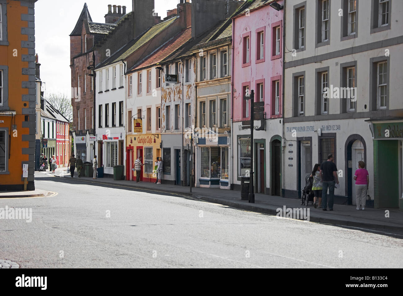 Haddington East Lothian. Scotland. - Stock Image